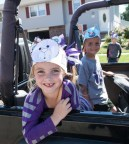 Ring bearers Jacey Scheuth and Isaac Field