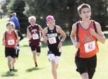 Boys approcah finish line