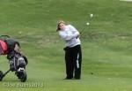 Girls golfing