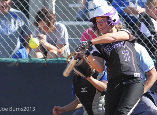 girl batting