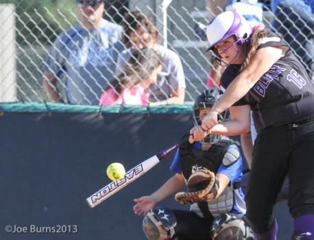 girl at bat