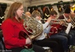Woman with French horn