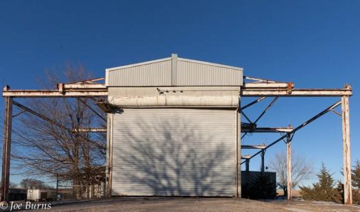 Atlas missile launch building.