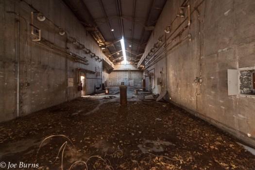 Interior of Atlas D Missile launch building