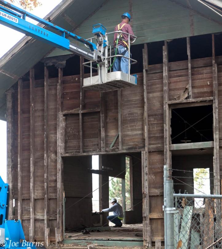 Construction on the depot began in September 2012