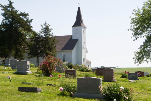 Immanuel Lutheran Church at Orum, June 2013