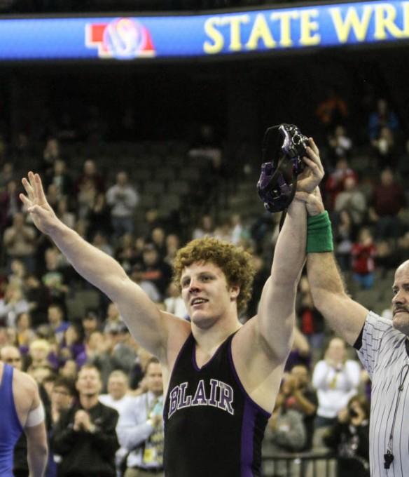 Will Schany wins fourth wrestling championship