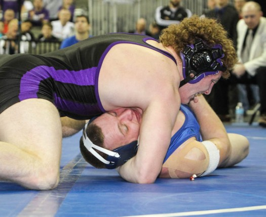 Schany pins Jack Barry in title match.