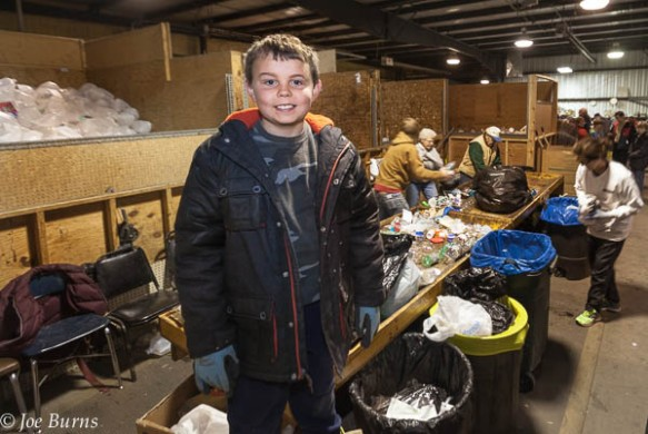 Ryley Stanley loves to volunteer at the Washington County Recycling Center.