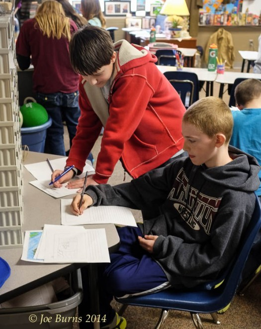 Arlington students working to build a new nation on Mars.