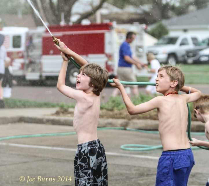 Water fights
