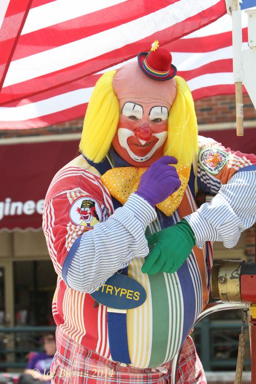Shrine clown