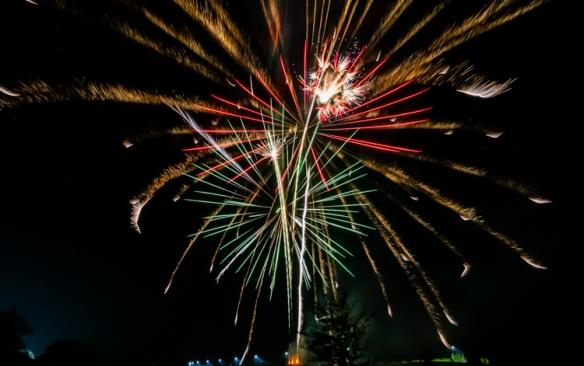 Blair fireworks show