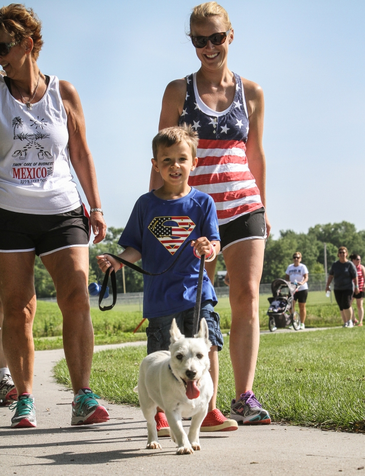 Arlington  summer Sizzle 5K walk run
