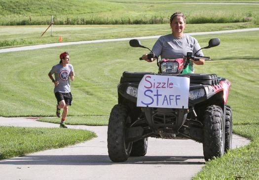 Arlington  summer Sizzle 5K walk run.