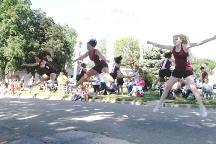 Arlington dance team.