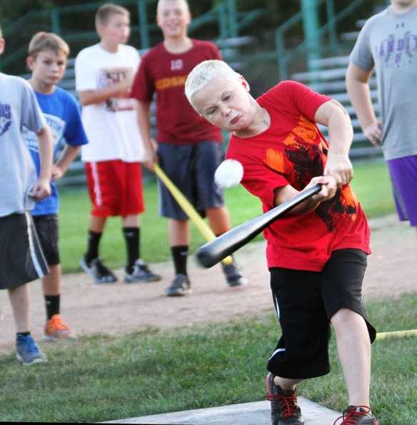Cole Haberman wins the 9-10 division with some nice hits.