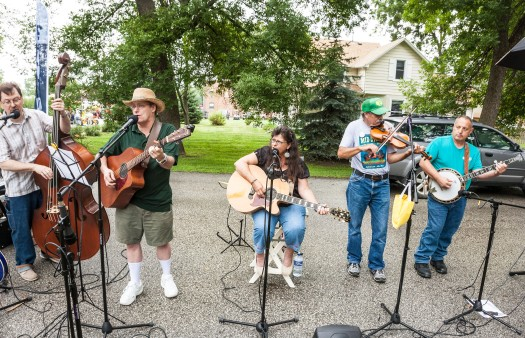 The Roundhouse Band was a featured act Saturday's Tractors Tall and Small event in Fort Calhoun.