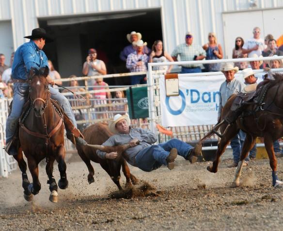 Tyler Kester, Steer wrestling.