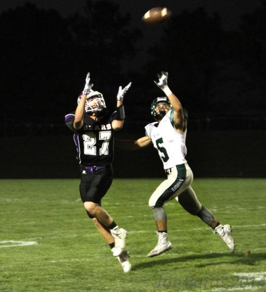 Vance Janssen catch for touchdown.