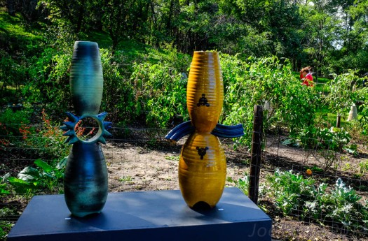 Big Table Studios pottery display
