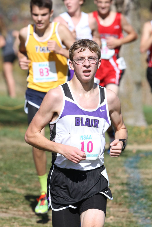 Evan Wick placed 51st in Class B state competition.