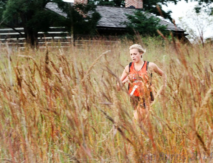 Mandy Hansen was the top Pioneer female runner finishing in third place.