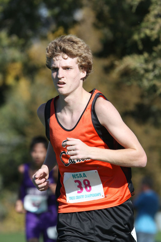 Peyton Griesert placed 21st in Class C boys race.