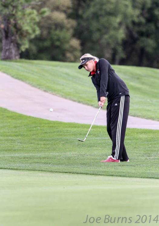 Duchesne  Academy  golfer  Selene Holtmeier.