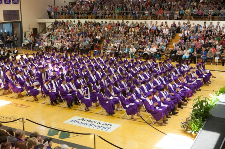 Blair High School Commencement, May 1 2014