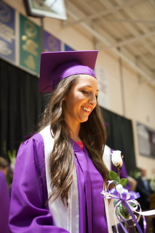 Blair High School Commencement, May 1 2014Emily Wing