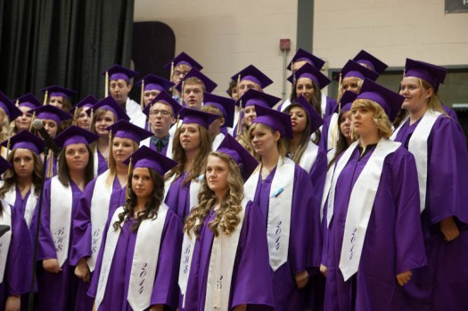 "Senior Choir sings, ""You'll Be in My Heart."""