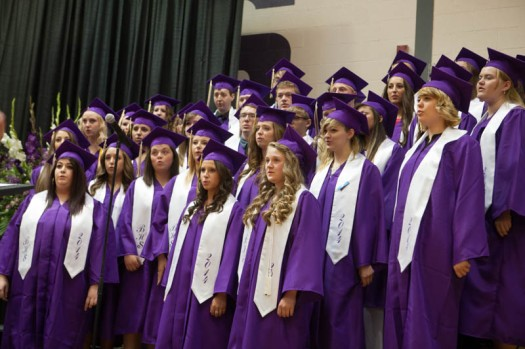 "Senior Choir Sings ""You'll Be in My Heart """