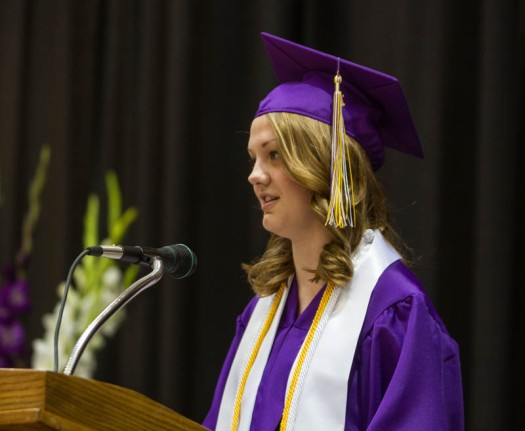 Commencement speaker Julia Lindgren