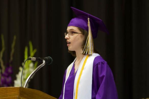 Commencement Speaker Katherine Garrett