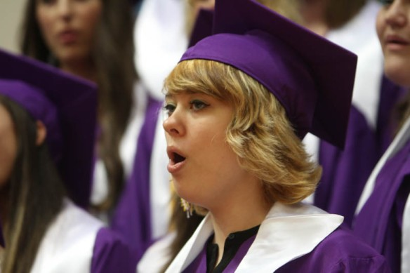 """Senior Choir sings, """"You'll Be in My Heart."""""""