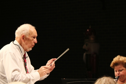 Guest conductor Dr. Charles Bagby directs the band playing John Philip Sousa's Stars and Stripes Forever. Dr. Bagby was a Family Practice Physician at the Blair Clinic until his retirement in 2005.  He is a founding member of the Blair Community Band.