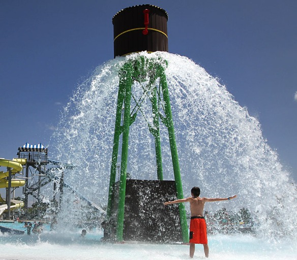 Splash Station is one of the areas largest water parks drawing visitors from the Omaha area as well as Fremont.