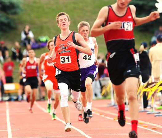 Alex Tietz 3200 second- place finish in 3200, State Track, Friday