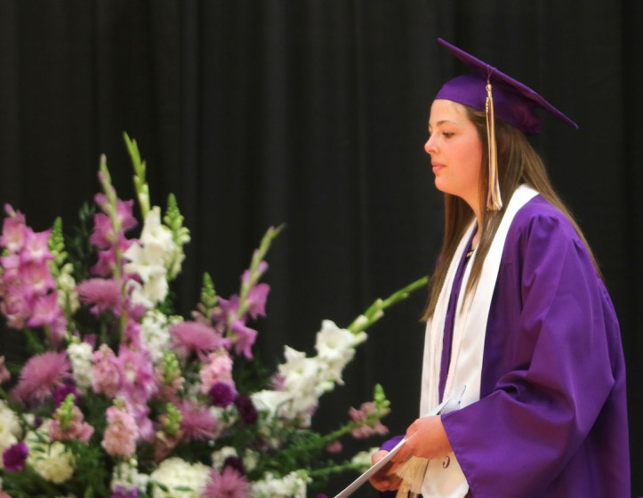 Avery Misteldt, Blair Commencement 2015