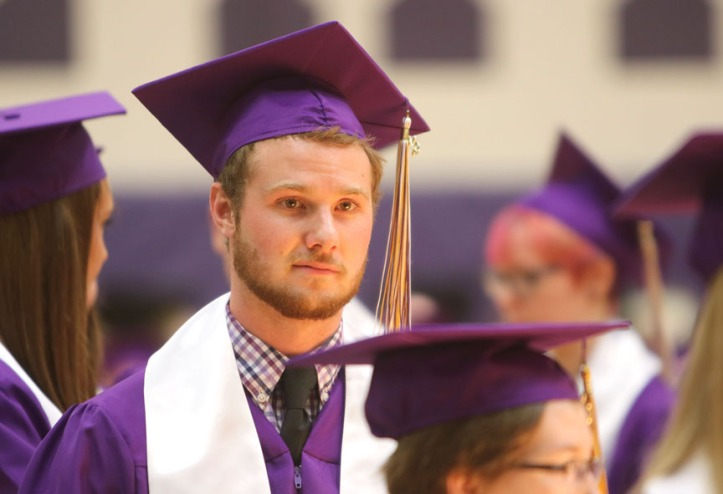 Blaine Fisher , Blair Commencement 2015