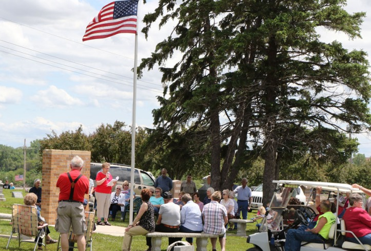 Kennard Memorial Day ceremony