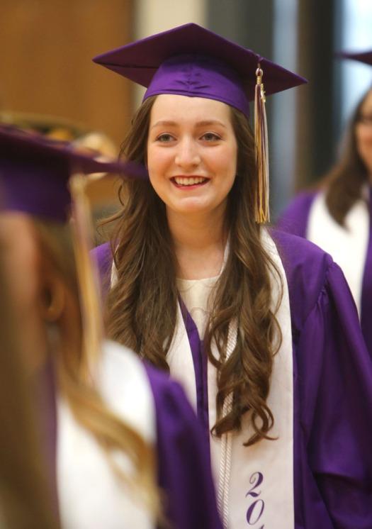 Emma Schneidere,  Scholarship recognitionBlair Commencement 2015