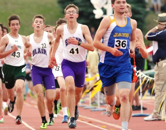 Evan, Alec Wick 3200 State Track, Friday
