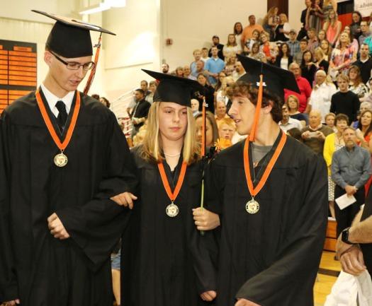 Honorary Graduates Remco Bakker, Jule Andresen, Jerrit Henne