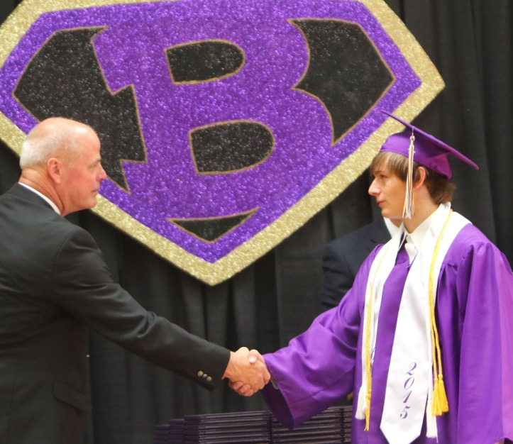 Luke Vopnford, Blair Commencement 2015