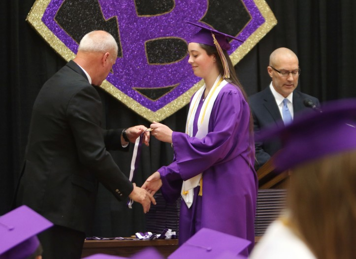 Maddie Misfledt, 10 percent recognition,Blair Commencement 2015