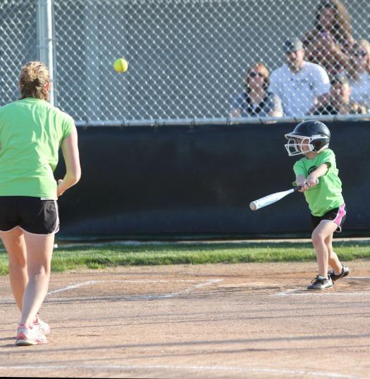 Jacy Scheuth  k-1 division Blair Youth Softball league