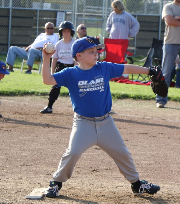 Zach Beckner pitches for Midland Rock Hounds Wolff Rookie , Rookie League Kid Pitch/Coach Pitch basball