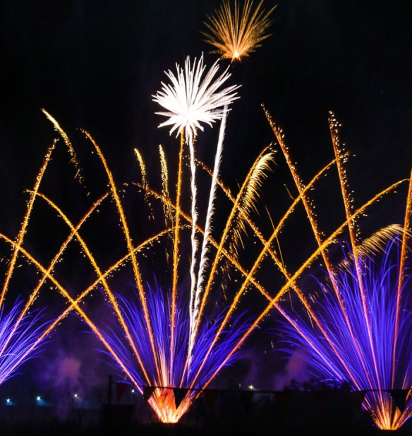 Blair firework show   presented by Midwest Fireworks Wholesalers. Saturday, July 4, 2015